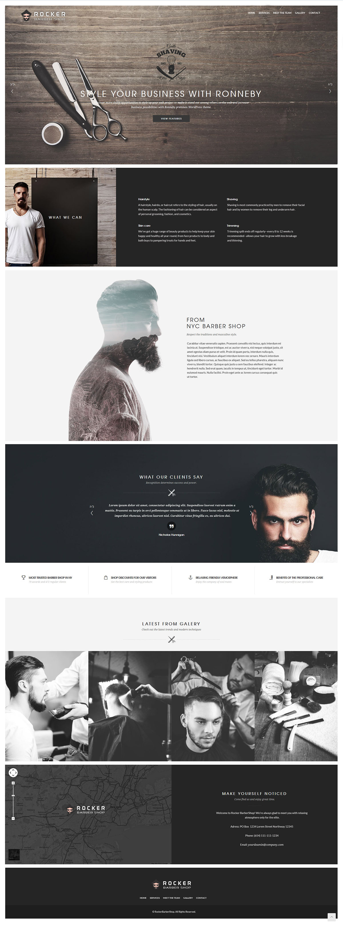 $950 Professional Custom Website Design